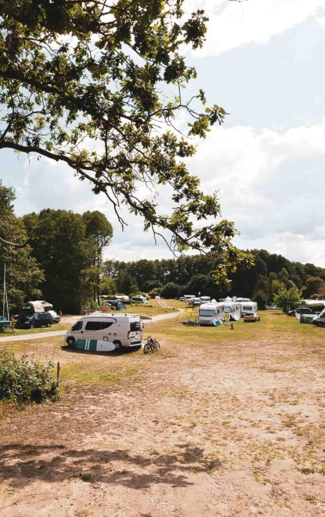 Campingplatz in Mecklenburg am See Strandcamping