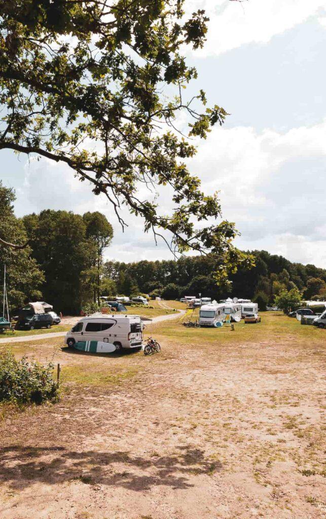 Campingplatz in Mecklenburg am See Strandcamping