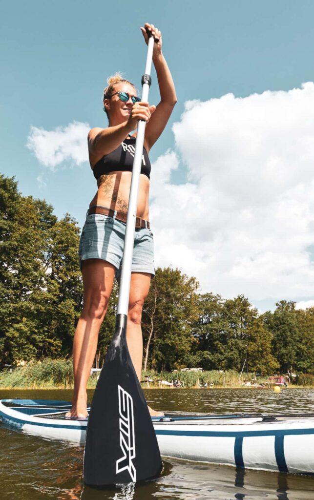 Wassersport Verleih für SUP Kajak Kanu und Tretboot